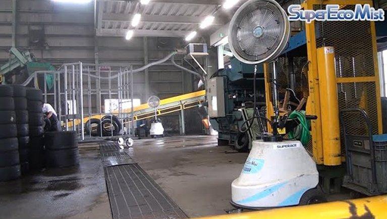 製造工場での暑さ対策