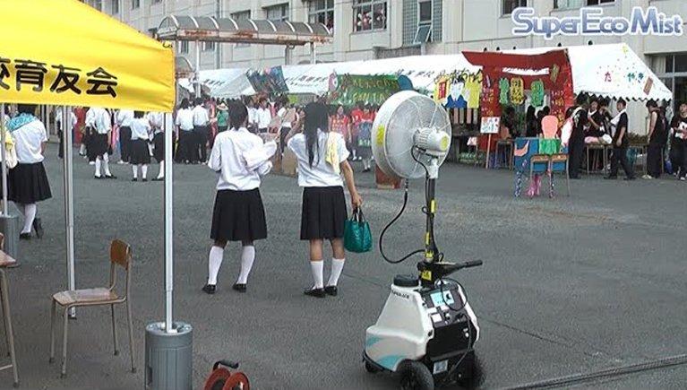 学校行事での暑さ対策