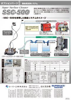 除染用洗浄システムSSC-500