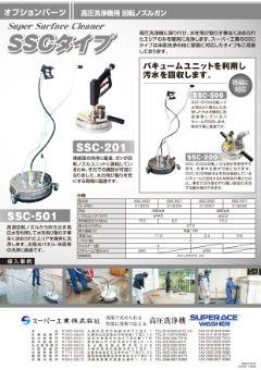 高圧洗浄機用オプション 回転ノズルガン SSCタイプ