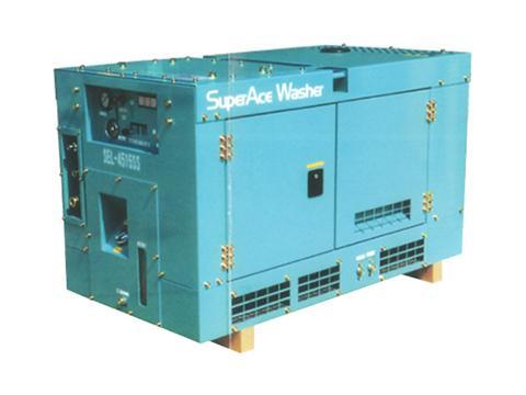 ディーゼルエンジン式防音洗浄機のSEL-SS型を開発