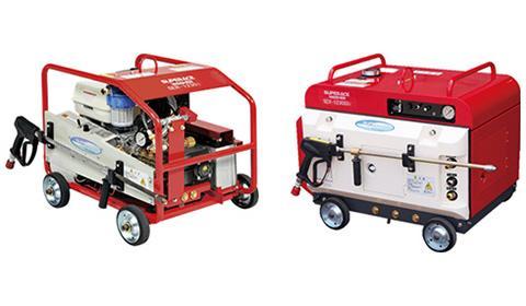 高性能エンジンiGX390を搭載 30MPa超高圧洗浄機