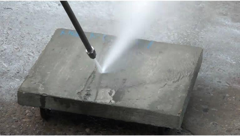 コンクリートハツリ圧力検証!
