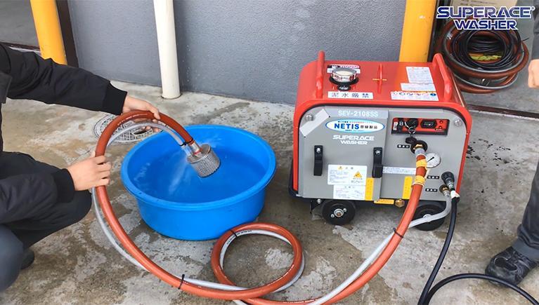 空運転を防止!渇水停止装置を検証してみました。