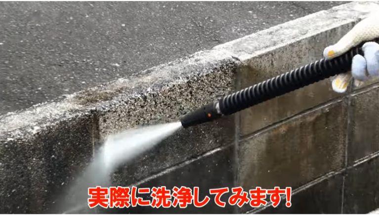 ガソリンエンジン式高圧洗浄機の実力!